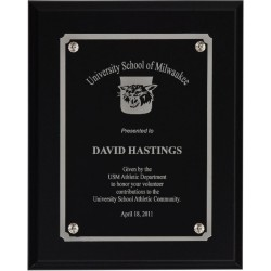 Black Matte Finish Plaques PL801