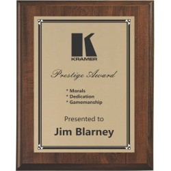 Cherry Finish Plaques PL901
