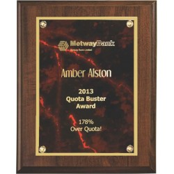 Cherry Finish Plaques PL902