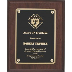Cherry Finish Plaques PL904