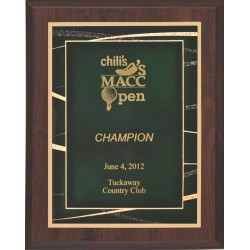 Cherry Finish Plaques PL905