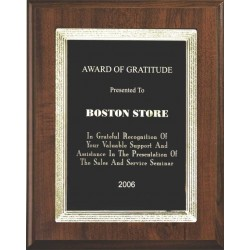 Cherry Finish Plaques PL1202