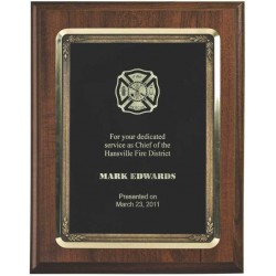 Cherry Finish Plaques PL1203