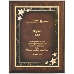Cherry Finish Plaques PL1205