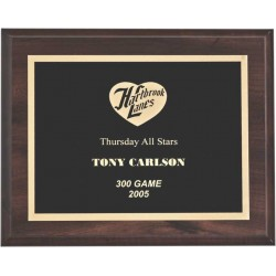 Cherry Finish Plaques PL1701