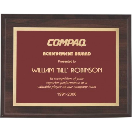 Cherry Finish Plaques PL1703