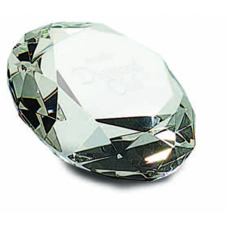 "3 1/4"" Crystal Diamond"