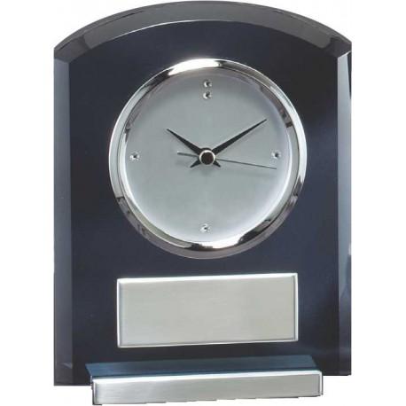 Smoked Glass Clock Executive Awards
