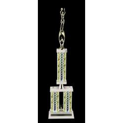 Silver Diamond Trophy DD-3101