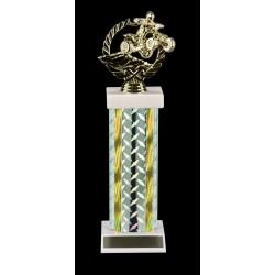 Silver Diamond Trophy Z-3109