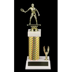 Gold Carbon Fiber Trophy OST-3208